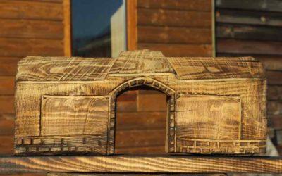Le porche de la Ferme du Pré Charmant